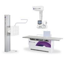 Radiologie X système de radiographie / numérique / pour radiographie polyvalente / avec bras porte-tube plafonnier télescopique
