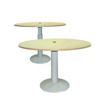 Table à manger / ronde / à hauteur variable