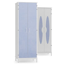 Armoire de rangement / de chambre de patient / 2 portes