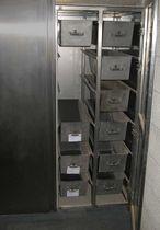 Armoire de stockage / pour cendres de crémation / d'hôpital / de refroidissement