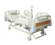 Lit d'hôpital / manuel / à hauteur réglable / médicalisé