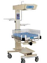 Table de réanimation néonatale sur roulettes
