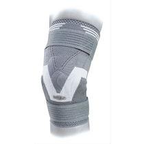 (immobilisation orthopédique) bandage de maintien de genou / avec renforts flexibles / avec contrefort rotulien