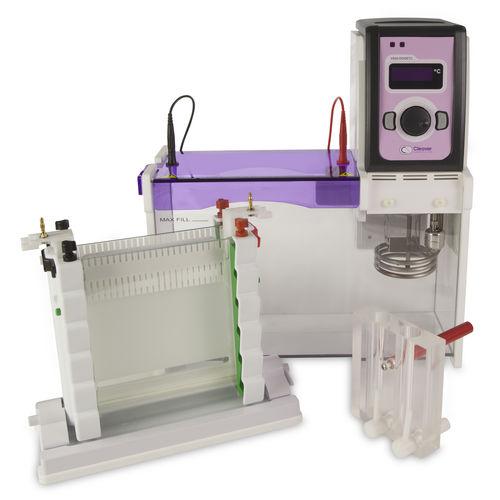 système d'électrophorèse pour ADN / vertical / de paillasse