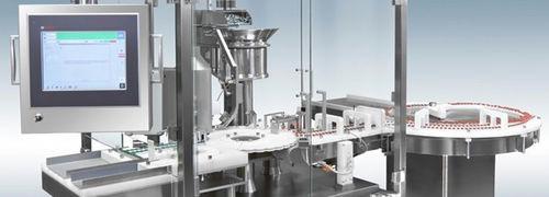 machine de scellage pour l'industrie pharmaceutique / automatique / au sol