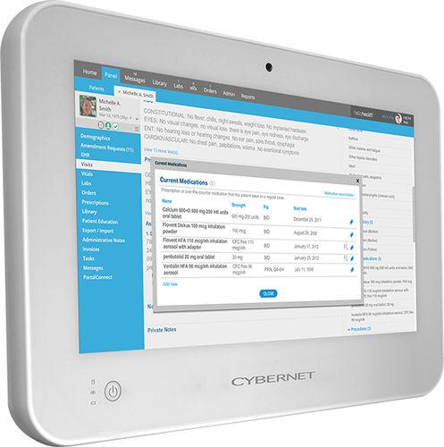 panel PC médical Quad Core / Dual Core / Intel® Celeron J1900 / Intel® Core i5