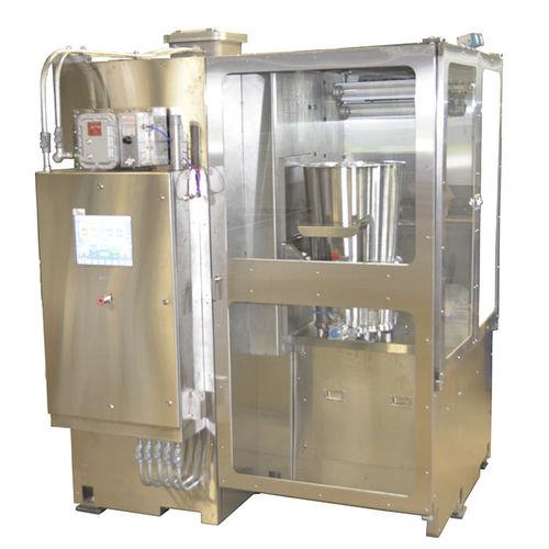 mixeur rotatif / pour l'industrie pharmaceutique / sur pied / numérique