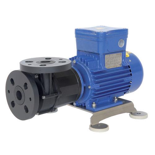 pompe pour liquides / à entraînement magnétique / compact