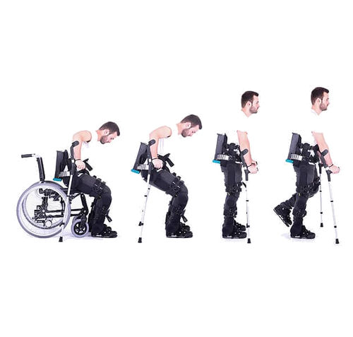 exosquelette de rééducation démarche / station debout