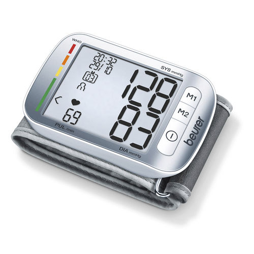 tensiomètre électronique automatique / de poignet / avec brassard intégré