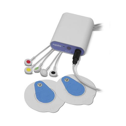 Électrocardiographe de test d'effort / pour PC / 2 canaux / à réseau sans fil ergoline 2  Ergoline