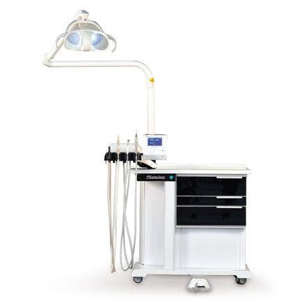 station de travail podologique / avec éclairage