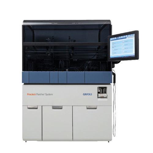 analyseur d'acides nucléiques avec écran tactile