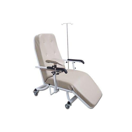 fauteuil d'hémodialyse manuel / 3 sections / sur roulettes / Trendelenburg