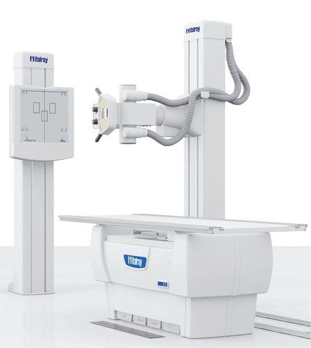 Système de radiographie / numérique / pour radiographie polyvalente / avec bucky X-FRAME DR2S SYSTEM ITALRAY
