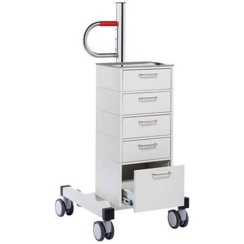 chariot de transport / porte-bouteille d'oxygène