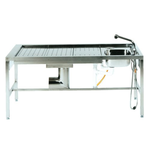 Table de macroscopie / rectangulaire / avec évier ZT HS 501 UFSK International