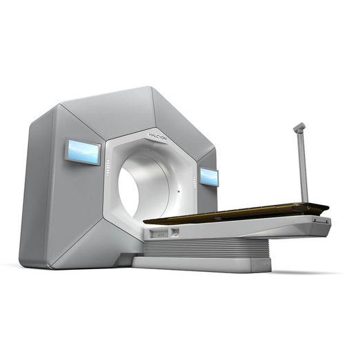 Accélérateur linéaire de particules radiothérapie avec modulation d'intensité / radiothérapie guidée par l'image / radiothérapie par arcthérapie volumique / avec table de positionnement robotisée Halcyon™ Varian Oncology