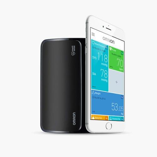 tensiomètre électronique automatique / de bras / Bluetooth / pour smartphone