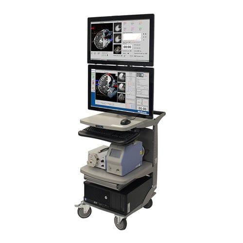 système d'ablation laser pour traitement des tumeurs cérébrales / guidé par IRM