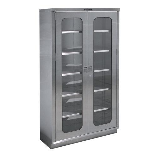 Armoire de stockage / de salle d'opération / avec étagère / 2 portes Pedigo