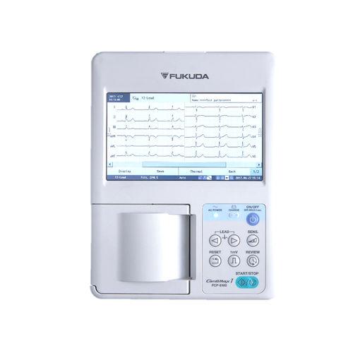 électrocardiographe de repos / numérique / 3 canaux / avec imprimante