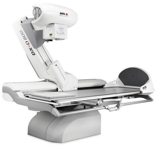 Système de radio-fluoroscopie / numérique / pour radiographie polyvalente / pour fluoroscopie diagnostique DX-D 800 AGFA Healthcare