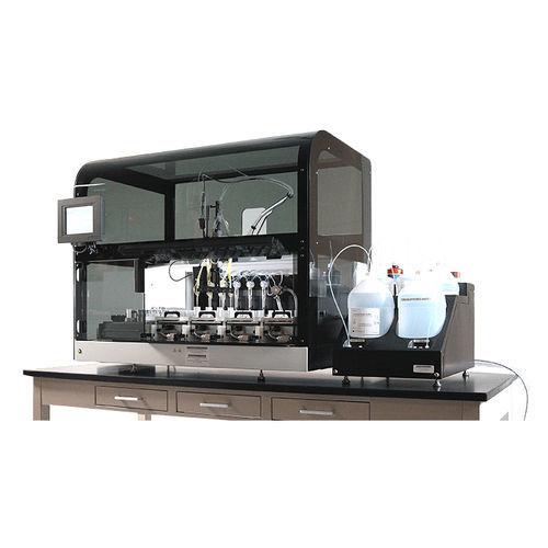 système de préparation d'échantillons de laboratoire / entièrement automatisé / par coloration / de paillasse