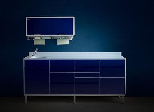 armoire pour cabinet dentaire / de rangement / pour instruments dentaires / pour cabinet médical