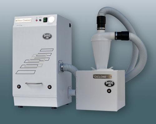 aspirateur de poussière pour fraiseuse / de table / avec système de filtration