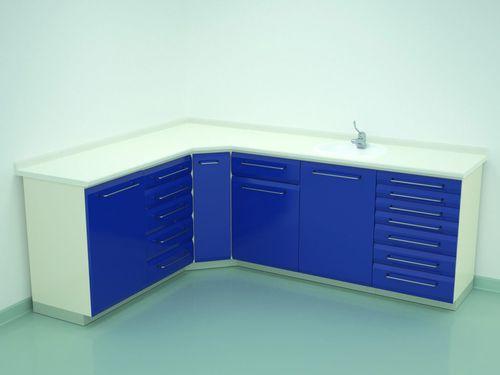 armoire de stérilisation / pour instruments / de salle d'opération / avec tiroir