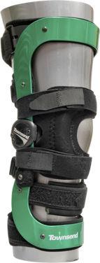 Orthèse de genou / stabilisation rotulienne / stabilisation des ligaments du genou / articulée THE SPOONER Townsend