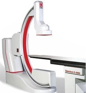 Système de fluoroscopie / numérique / pour fluoroscopie diagnostique / avec amplificateur de brillance SPECTUM E-5000 EMD Medical Technologies