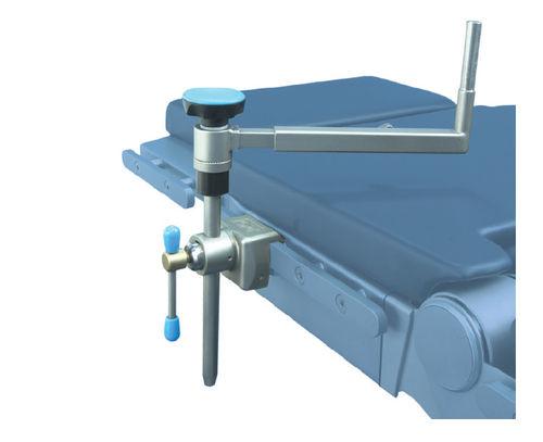 appui latéral / pour table d'opération / en acier inoxydable / à hauteur variable