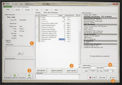 logiciel de gestion de données patient / clinique / de pharmacie