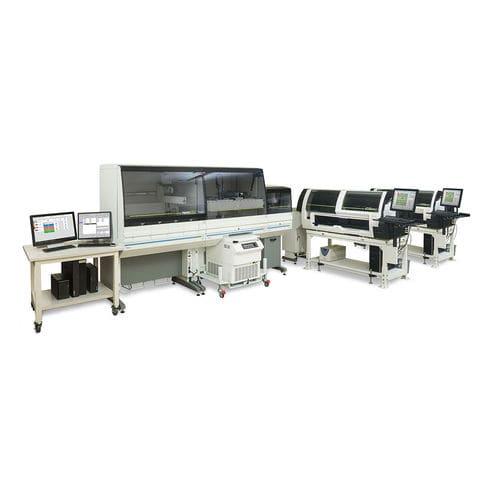 système d'automatisation de laboratoire pré-analytique / post-analytique / pour analyseurs d'hématologie