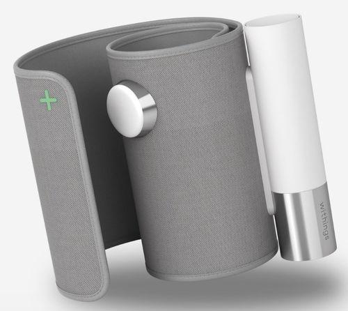tensiomètre électronique automatique / de bras / avec brassard intégré / à réseau sans fil