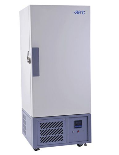 congélateur de laboratoire / vertical / ultra-basse température / 1 porte