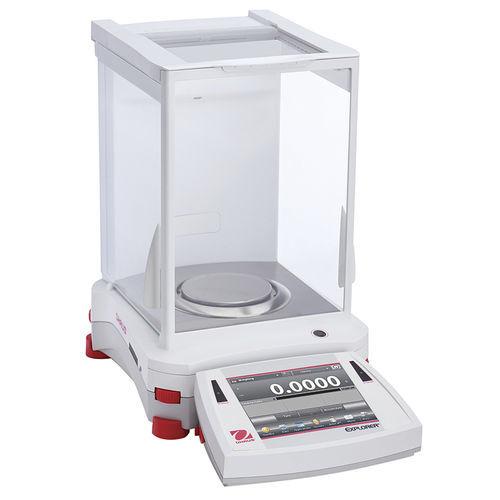 balance de laboratoire électronique / analytique / avec affichage numérique / de paillasse