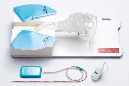 Simulateur pour aspiration des voies aériennes / de trachéotomie / tête M175-1 Sakamoto Model Corporation