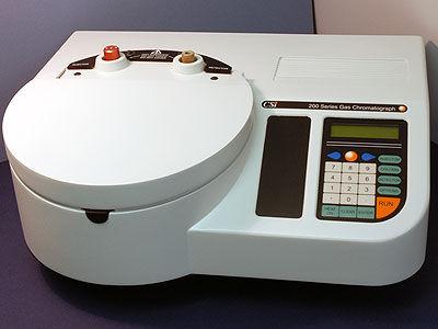 système de chromatographie GC - Ellutia