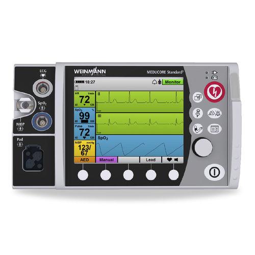 défibrillateur externe semi-automatique / avec moniteur multiparamétrique