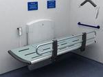 Table à langer / rectangulaire / à hauteur variable / électrique  Total Hygiene