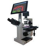 microscope de laboratoire / de recherche scientifique / biologique / médical