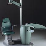 station de travail ophtalmique / avec fauteuil