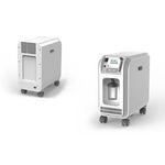 Concentrateur d'oxygène sur roulettes / PSA OC3B Contec Medical Systems