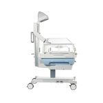 table de réanimation néonatale sur roulettes / à hauteur réglable