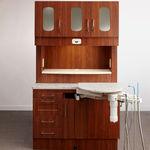 armoire pour cabinet dentaire / avec étagère / avec tiroir / avec porte