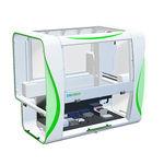 station de travail de laboratoire pour criblage à haut débit / automatisée / par pipettage / de paillasse