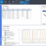 logiciel d'analyse / de reporting / de contrôle / d'interprétation